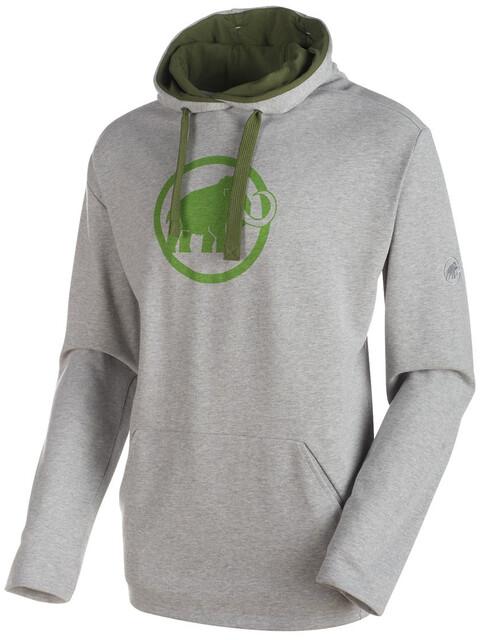 Mammut Mammut Logo ML - Sudadera con capucha Hombre - gris